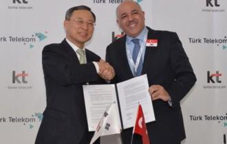 Türk Telekom ve Korea Telecom GIGA LTE Anlaşması Yaptı