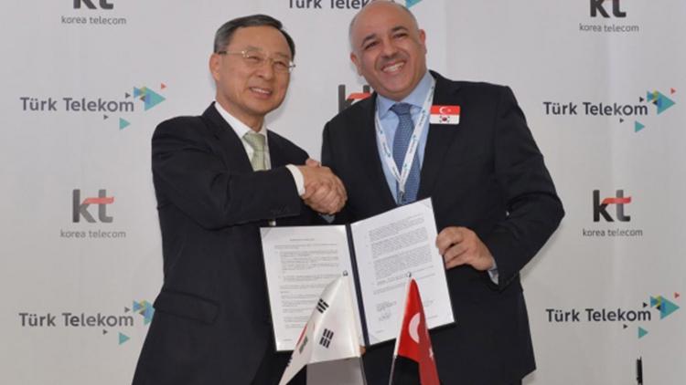 Türk Telekom ve Korea Telecom