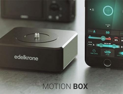 Ankara Menşeli Teknoloji Şirketi Edelkrone'dan Yeni Harika: Motion Box