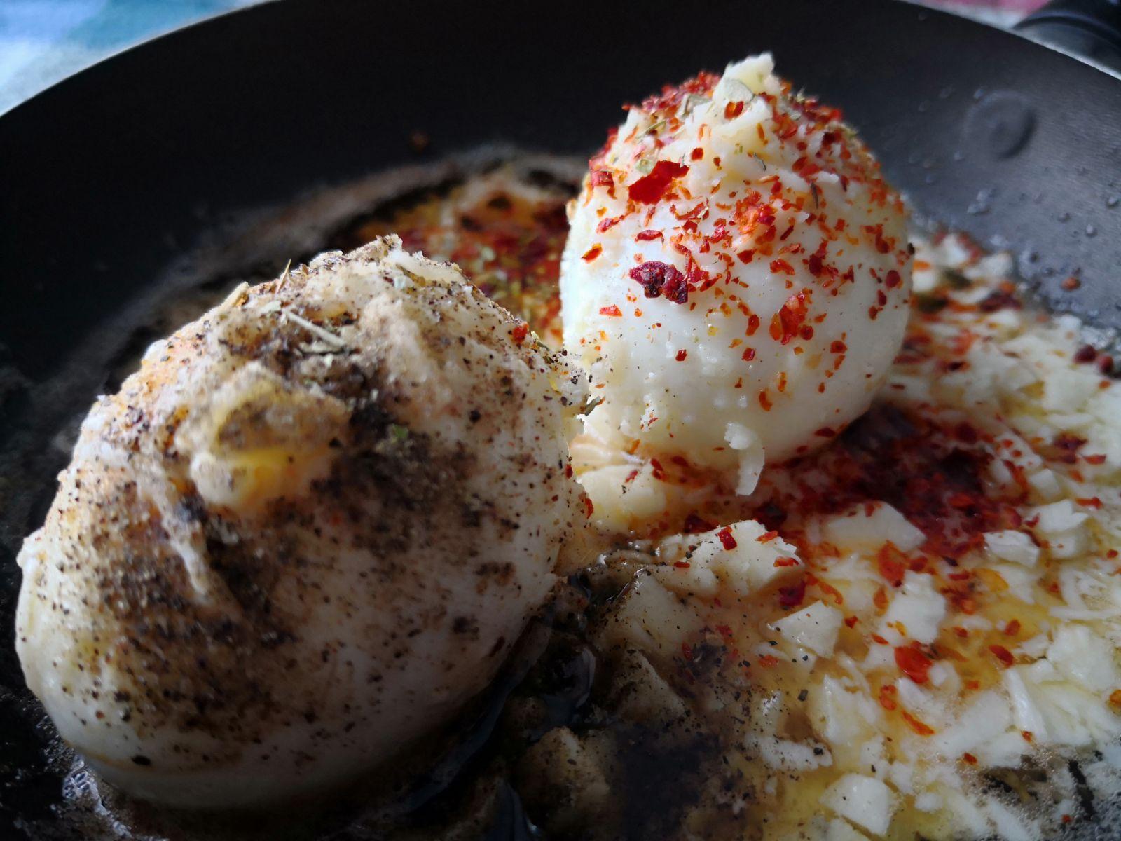 Tereyağlı Haşlanmış Yumurta