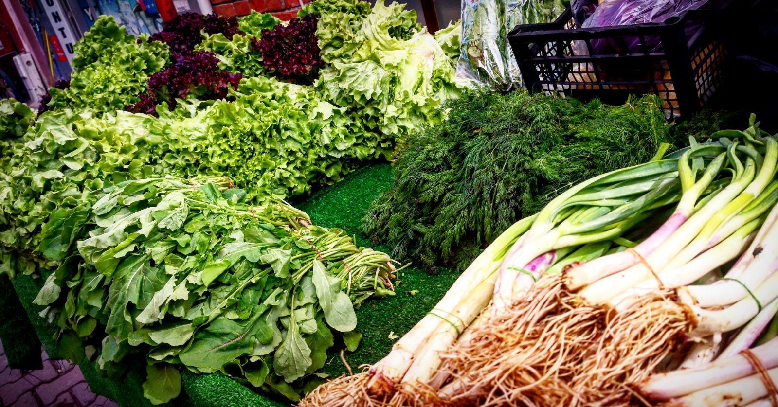 Yeşillik Sebzeler